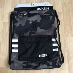 Adidas Camouflage Sackpack Bag Draw String